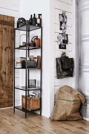 Regał Vittsjo pojedyńczy IKEA szkło