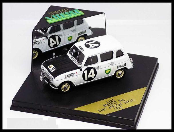 Renault 4L - Bernard Consten - Rally Safari 1962 - VITESSE