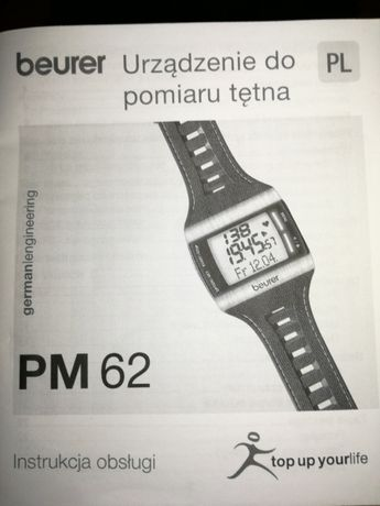 Smartwatch Beurer PM 62 NOWY