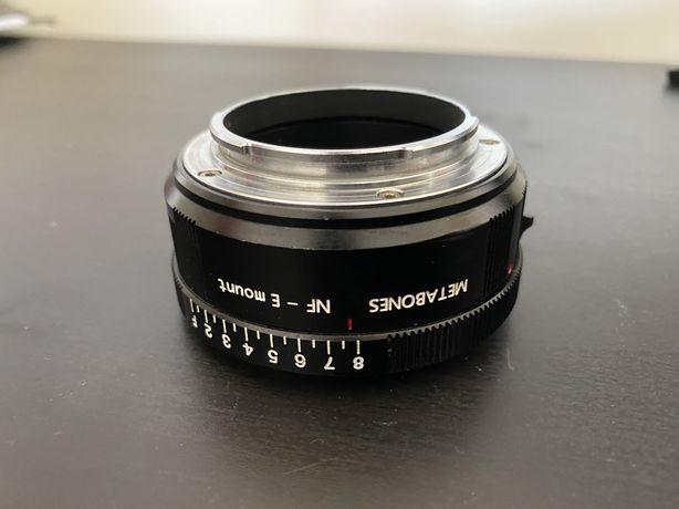 Metabone Sony / usar lente nikon na sony