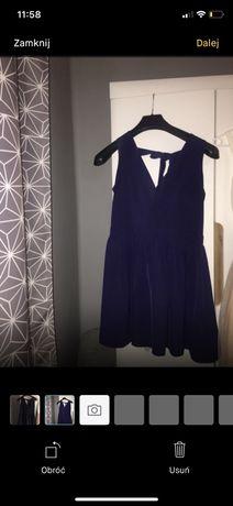 Sukienka krótka.