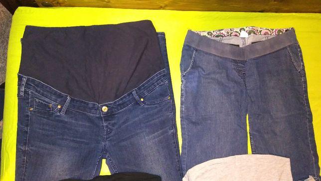 Spodnie ciążowe SKINNY 44 MODA 10 Esmara 44/46 x 2