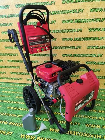 Lavadora Gasolina Alta Pressão - 250Bar - Motor 7cv - 5 Ponteiras