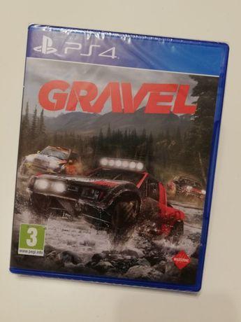 Zamienię nowa gra Gravel PS4 slim pro wyścigi Play Station 4 wyścigi