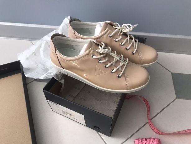 Кеди шкіряні кросівки екко 37,5 розмір устілка 24 см