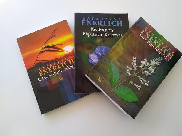 Trzy książki Katarzyny Enerlich