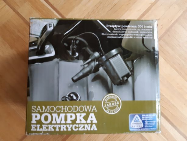Pompka elektryczna samochodowa 12 V