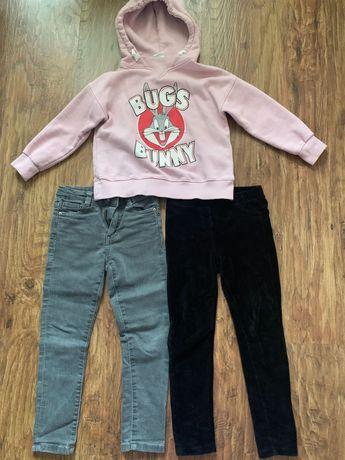 Пакет одежды Zara, mango для девочки