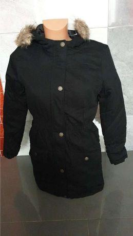 Nowa kurtka dziewczęca parka w rozmiarze 152 i 158 oraz 164