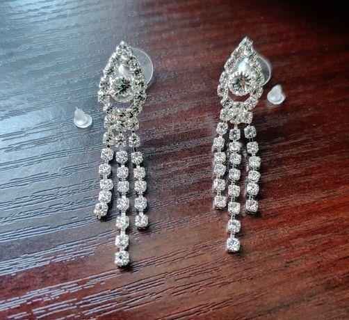 Сережки ,  earrings. (біжутерія )