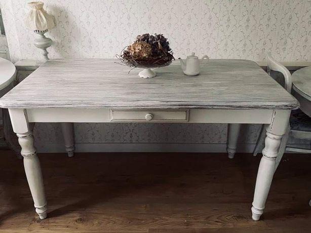 Stół rustykalny, prowansalski, stół shabby chic