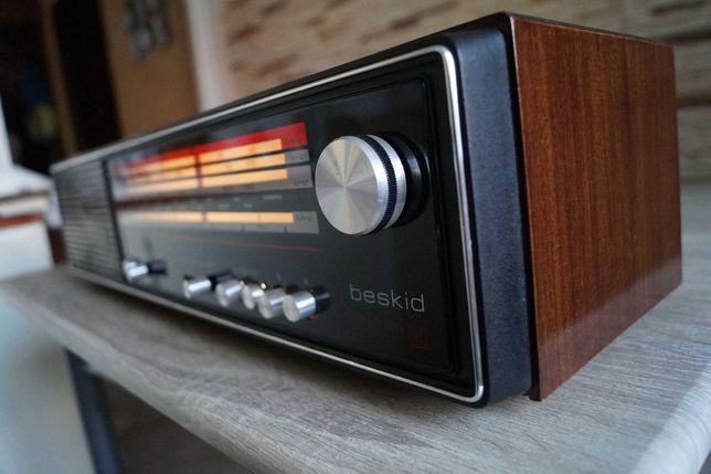 "Radio UNITRA ""Beskid"" DMP-411, przestrojony, Vintage!"