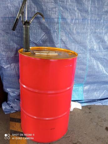 Beczki metalowe po oleju