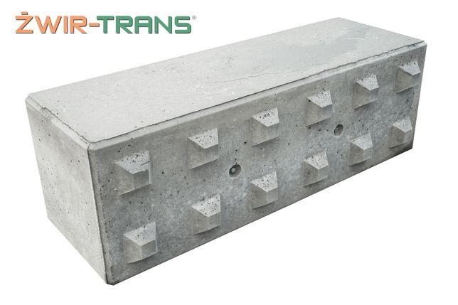 Bloki betonowe mur oporowy klocki certyfikat CE oraz Ognioodporność