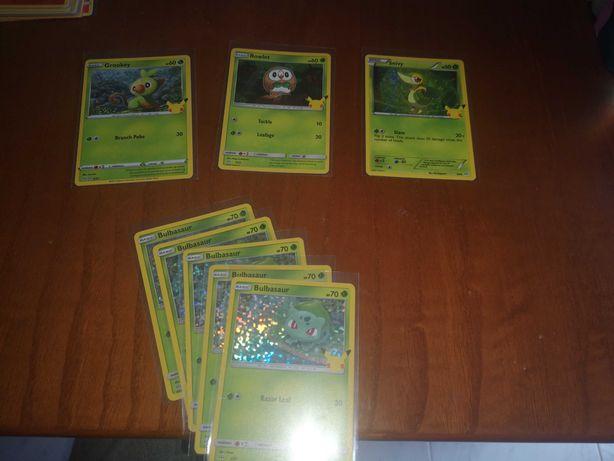 Cartas Pokémon - McDonald's Pokémon 25th Anniversary & others