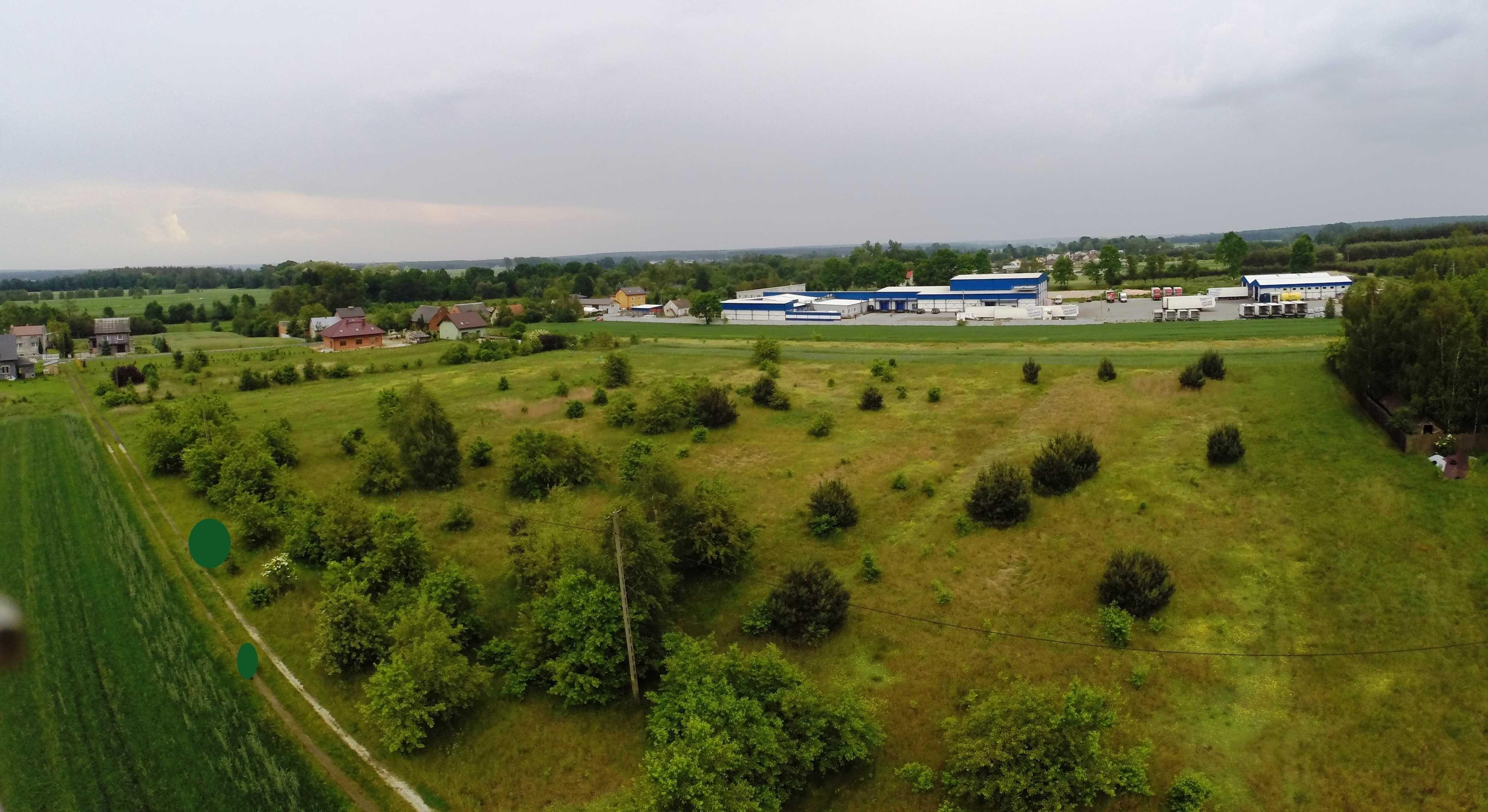 Działka 0,76 ha Wieruszów
