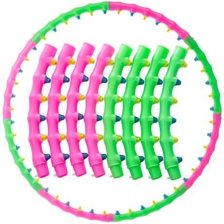 Обруч массажный Хула Хуп / Hula Hoop 6005 с магнитами (900гр/d-100см)