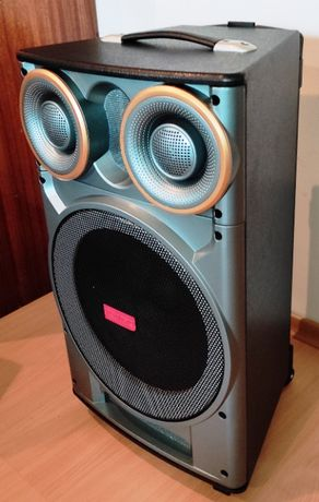Активная Колонка с Германии наАКБ 12 дюйм Супер Звук сабвуфер 180W RMS