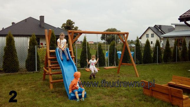 Huśtawka Ogrodowa Dziecięca Plac zabaw + ślizg, zjeżdżalnia