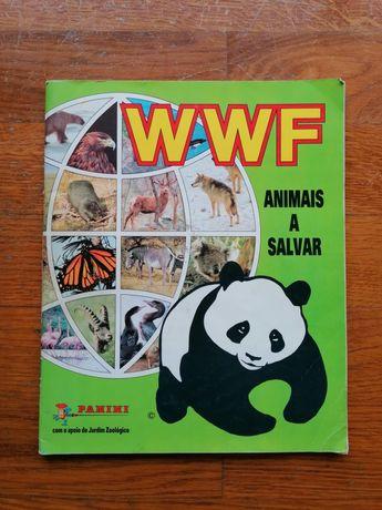 Caderneta WWF Animais