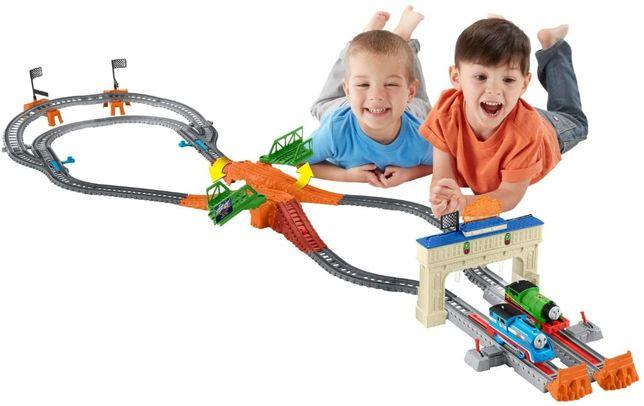 Моторизированная железная дорога Томас и друзья Большие гонки