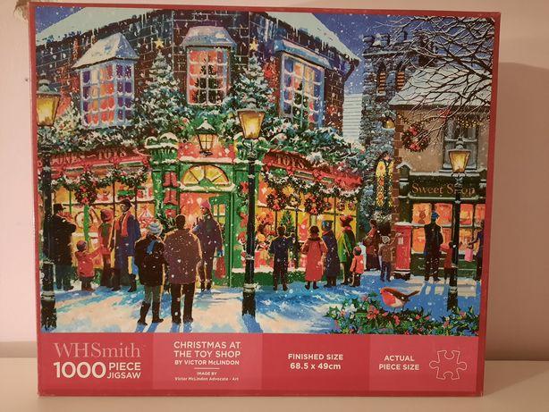 Puzzle WhSmith świąteczne
