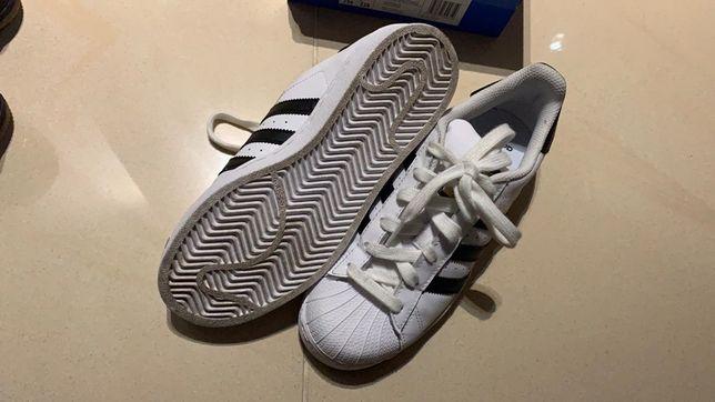 Adidas superstar rozmiar 36 2/3 białe