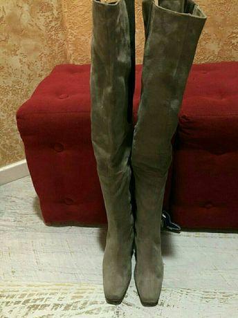 Ralph h актуальные кожаные ботфорты сапоги квадратный нос носок