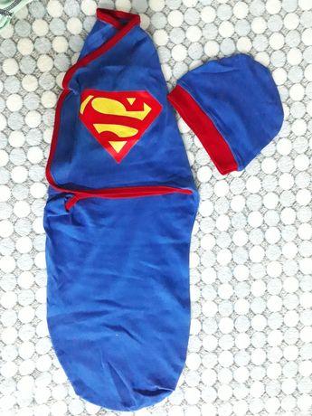 Пеленка кокон Супермен