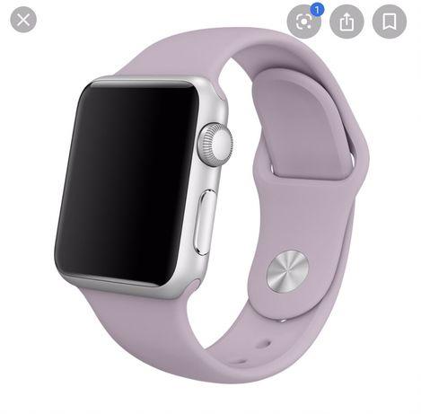 Ремешок Apple Watch 42/44 мм силиконовый