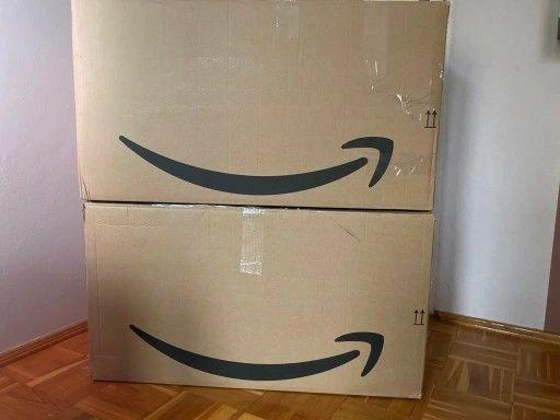 ## duży KARTON pudło BOX opakowanie ## 3 sztuki