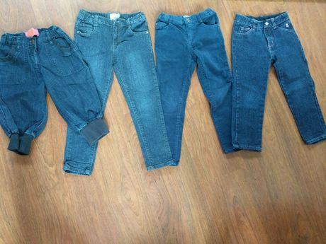 4 pares calças / corsários menina 4 anos Prénatal, Zippy e Kaboosia