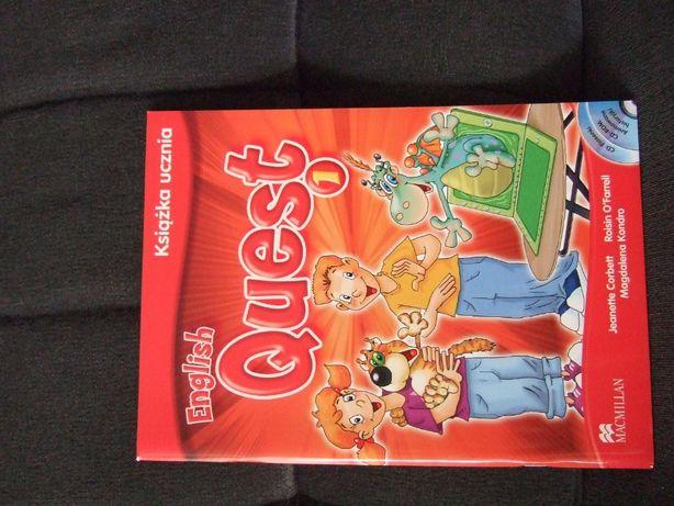 "Książka do j.angielskiego ""English Quest 1"" Macmillan"