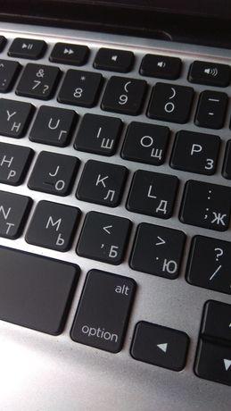 Гравировка клавиатуры русификация. Качественно лазерная. Как фабричная