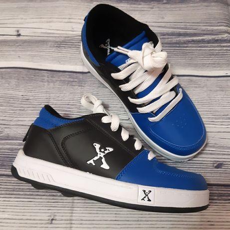 Новые роликовые кроссовки Heelys SidewalkSports, 35р.