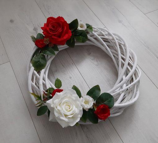 Wianki dekoracje weselne