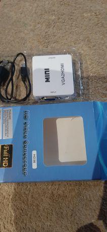 Przejściówka VGA Audio na hdmi