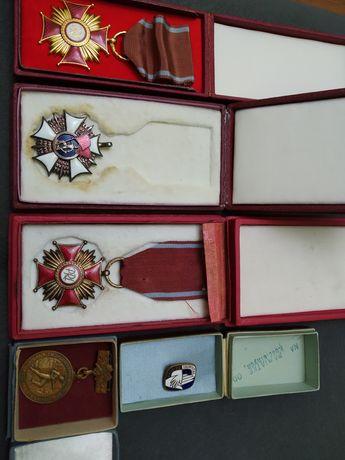 Odznaczenia-medale PRL brak Sztandaru Pracy