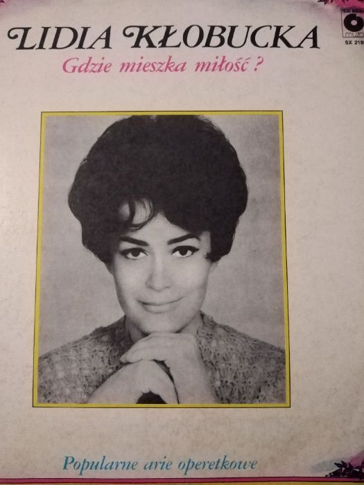 Płyty winylowe - Lidia Kłobucka
