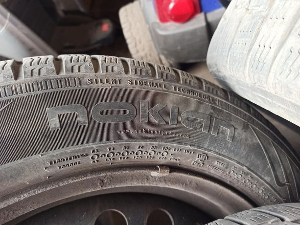 Резина Nokian wr a4 зимова