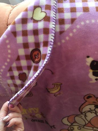 Детское мягкое одеяло