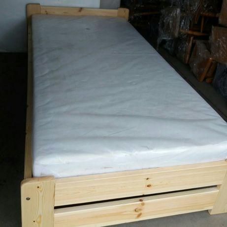 Łóżko 90 x 200 sosnowe nowe