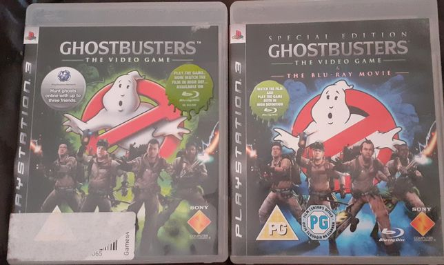 Gry ps3 ghostbusters