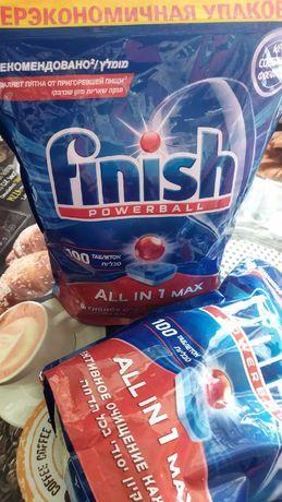 Таблетки для посудомойки Finish 100шт -1 уп.