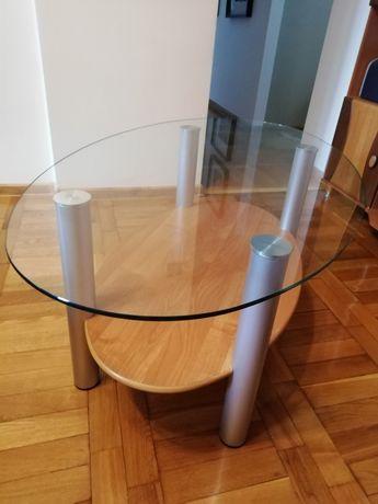 Stolik szklany kawowy ława