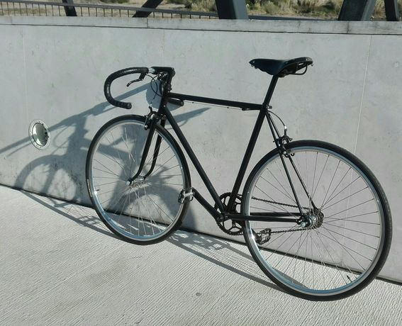 Bicicleta Single Speed Nova customizada selim Brooks