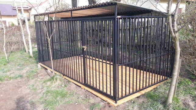 wiata,kojec dla psa,schowek,klatka kennel,drewutnia.Stal,stal i drewno