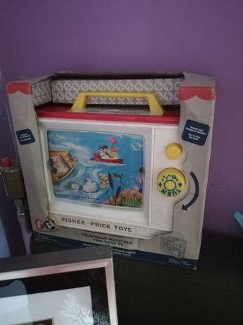 Vintage style  TV fisher price