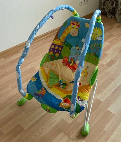 Детское массажное кресло TinyLove + набор игрушек для самых маленьких