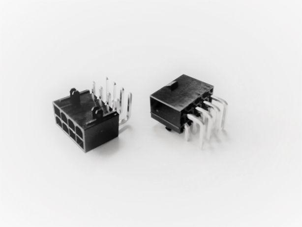 Гнездо, разъем, коннектор PCI-E 8 пин pin для видеокарт, асик ASIK.